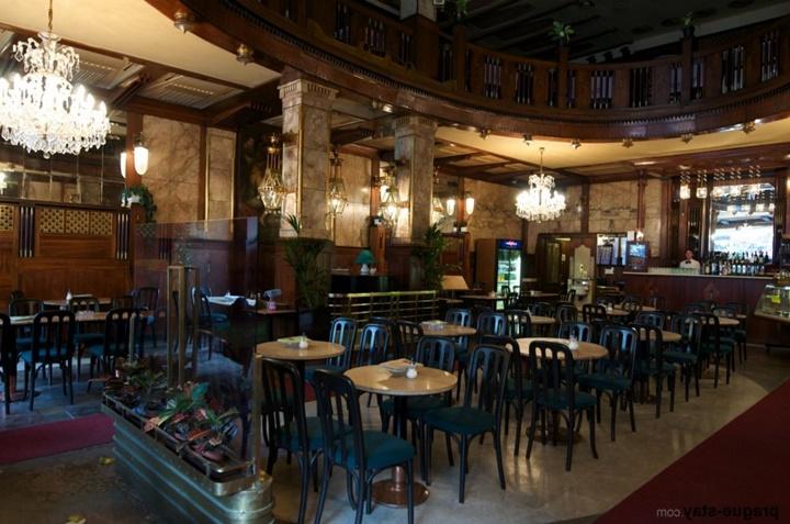 Prag kavarna evropa kafeteryası