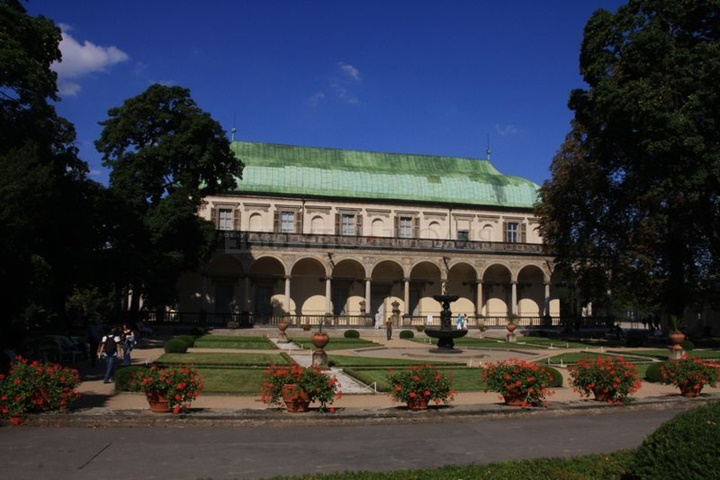 Prag royal garden