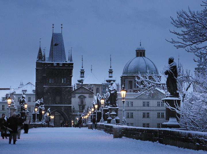 Prag'da kışlar nasıl geçer