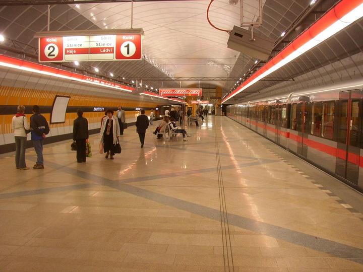 Prag'da metro
