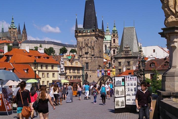 Prag'da yazlar nasıl geçer