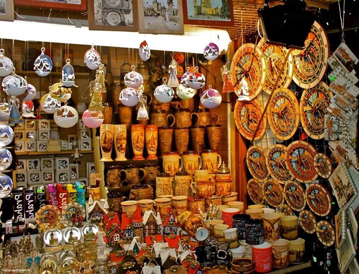 Prag'dan hediyelik eşya ne alınabilir