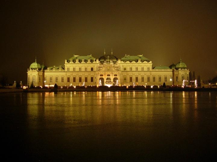 Viyana Belvedere sarayı