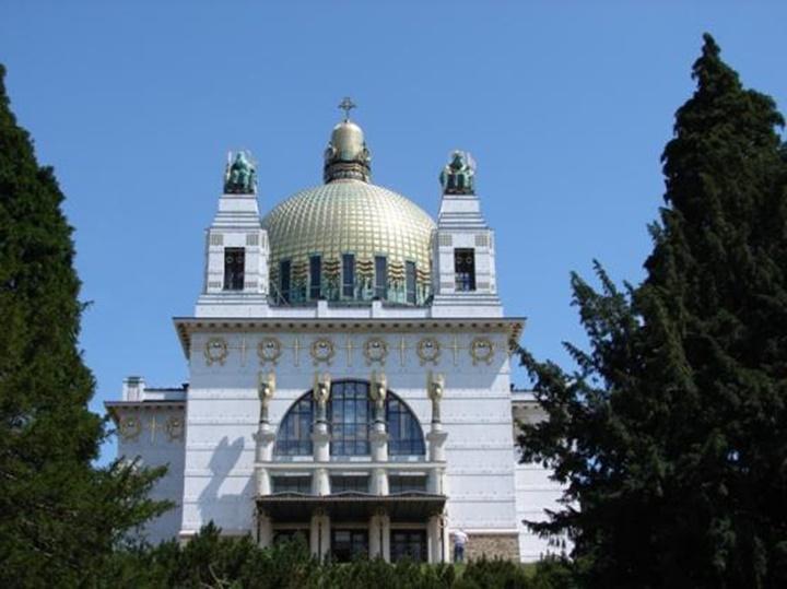 Viyana Kirche am steinhof kilisesi - Viyana Steinhof kilisesi