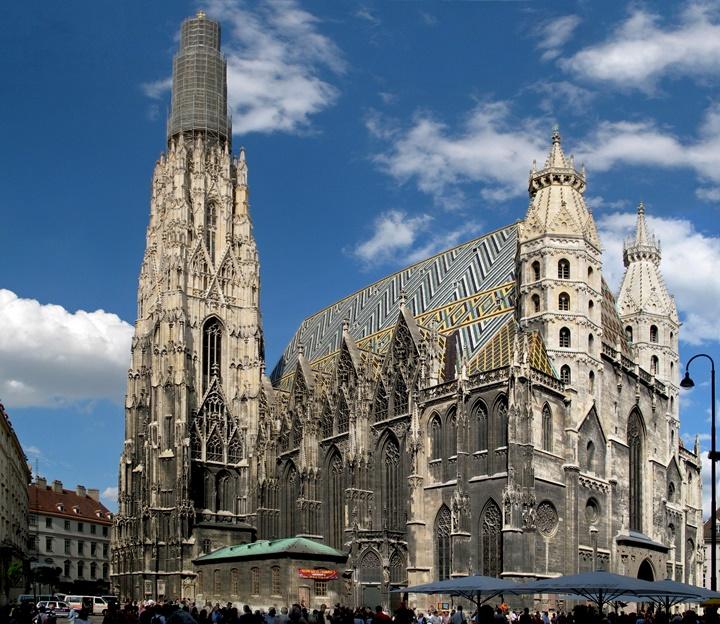 Viyana Stephansdom katedrali - Viyana Aziz Stephan katedrali