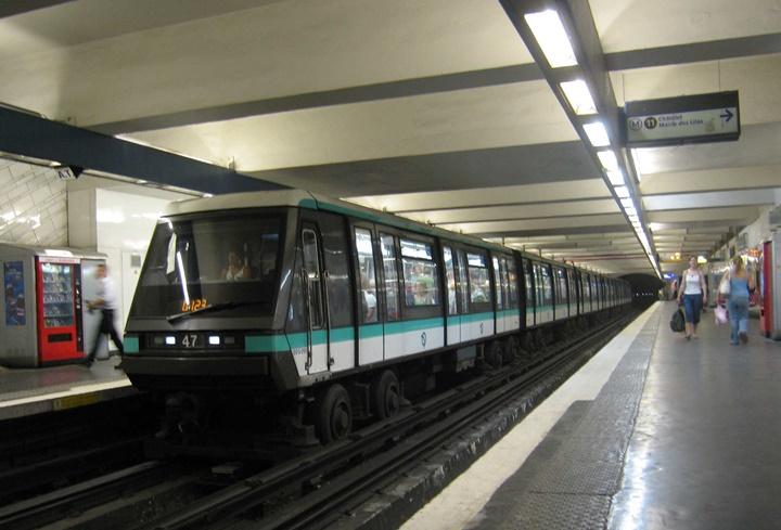 paris metrosu hakkında bilgi