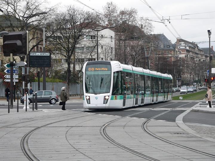 paris tramvayı hakkında bilgi
