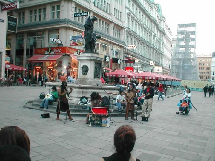 viyana gezi rehberi - viyana sokak sanatçıları