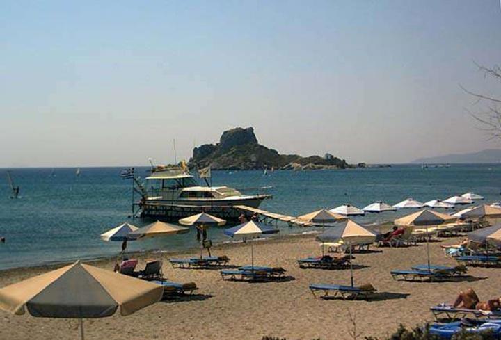 Kos Kefalos plajı - Kos kefalos beach