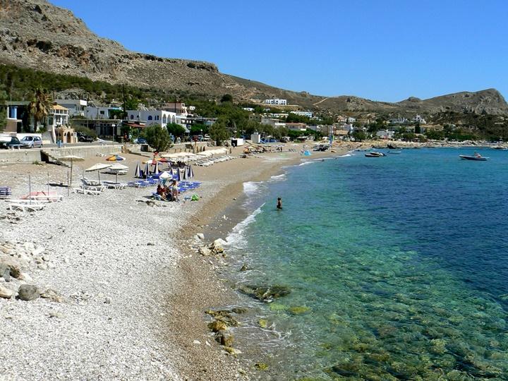 Rodos Stegna plajı