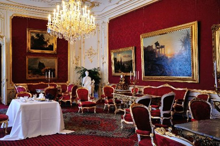 Viyana Hofburg imparatorluk daireleri