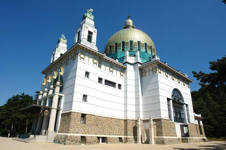 Viyana Kirche am steinhof kilisesi