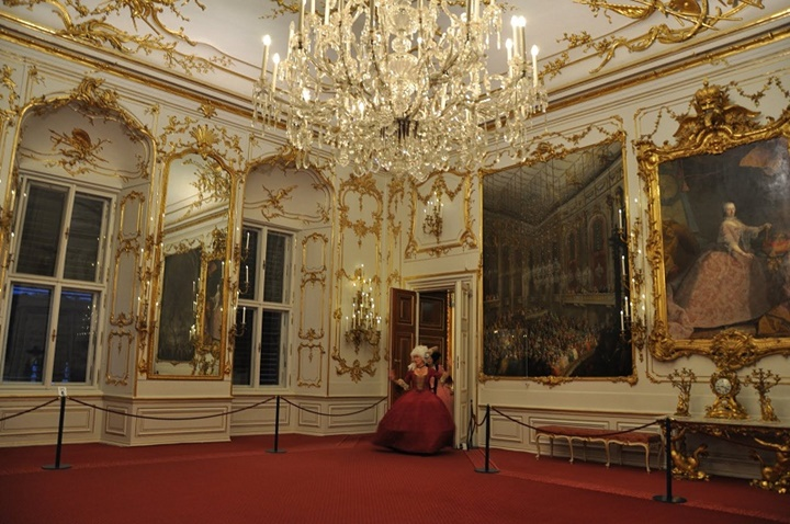 Viyana Schönbrunn sarayı