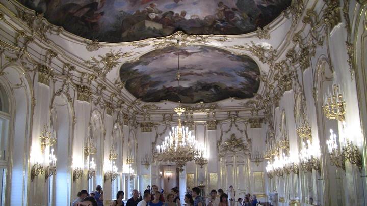 Viyana Schönbrunn sarayının içi
