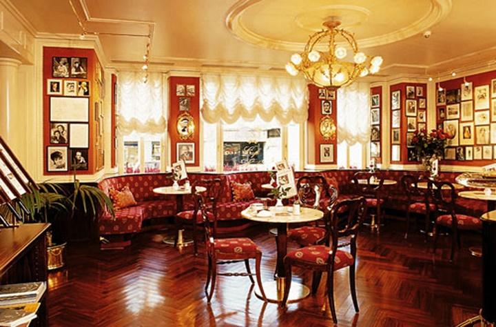 hotel sacher restaurant viyana