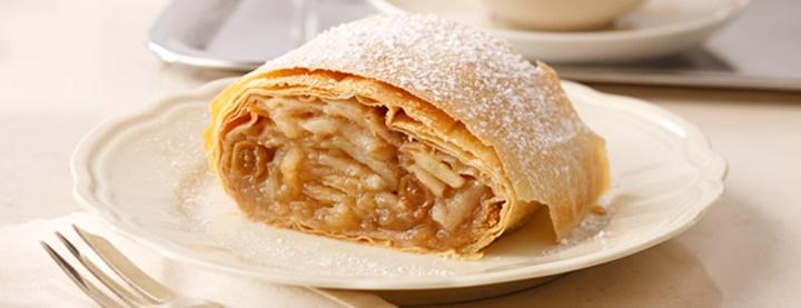 viyananın meşhur tatlıları - Apfelstrudel
