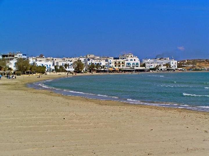 Naxos agios georgios plajı