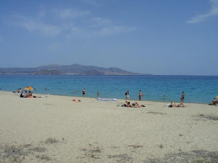 Naxos grotta plajı