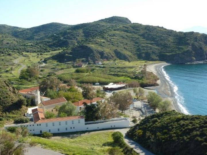 Sakız Adası Agia Markella Manastırı