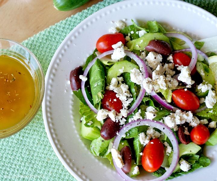 Sakız Adasında Ne Yenir - yunan salatası