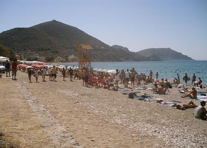 Sakız adası komi plajı