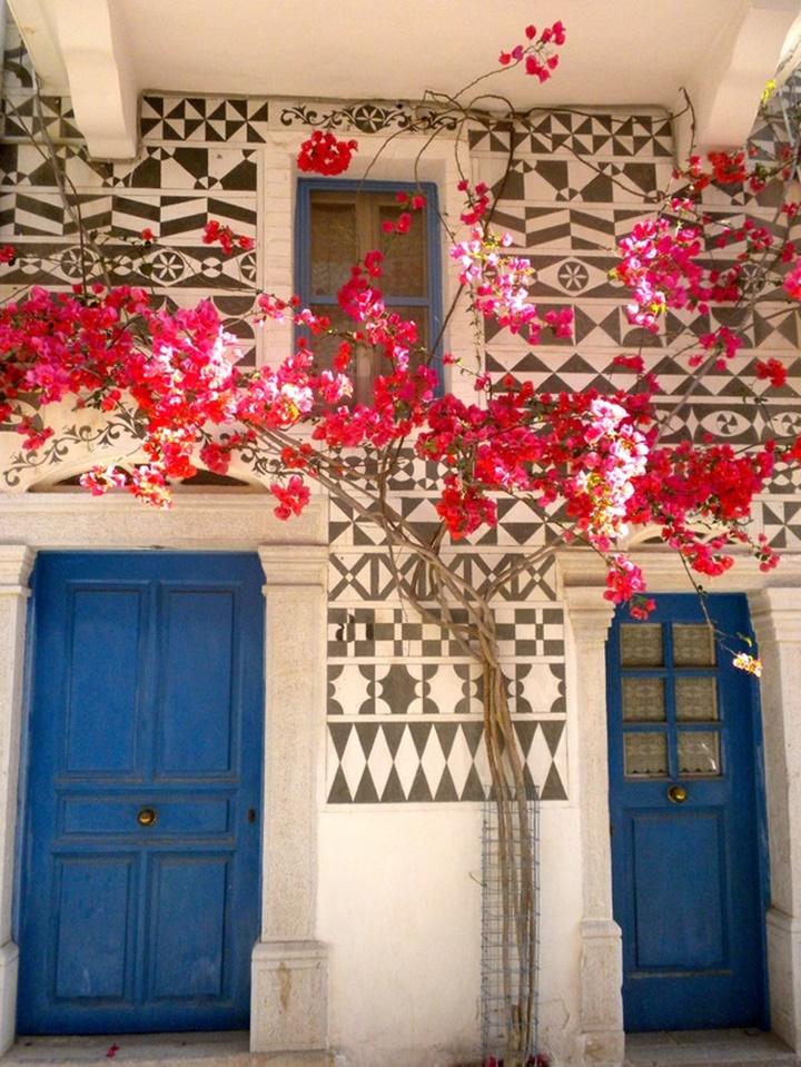 Sakız adasında yer alan köyler - Sakız adası Pyrgi Köyü