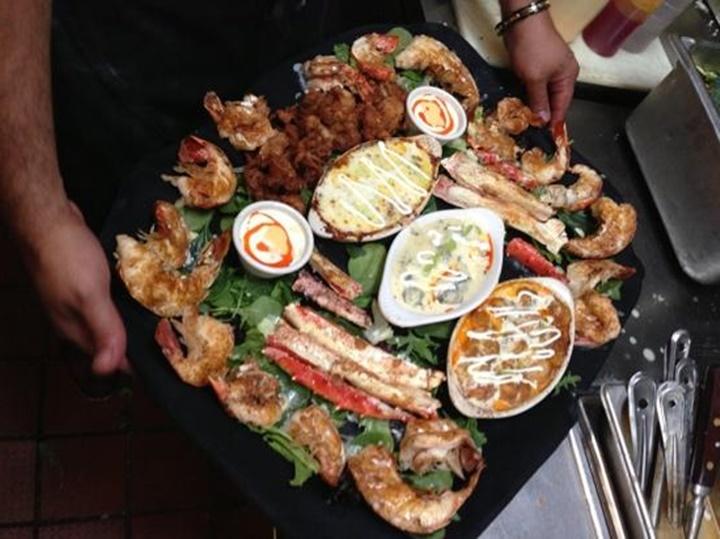 midilli adasında deniz ürünleri - lesvos adasında deniz ürünleri