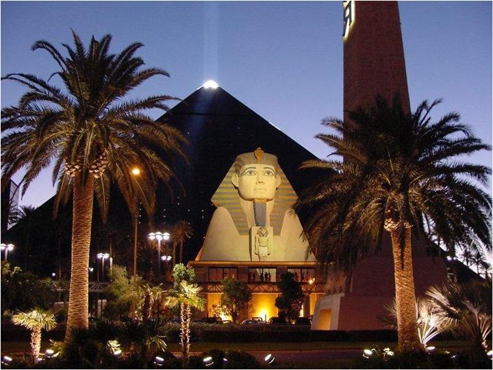 Las vegas Luxor otel