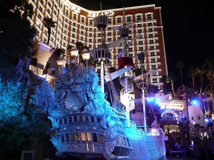 las Vegas Treasure Island Hoteli & casino