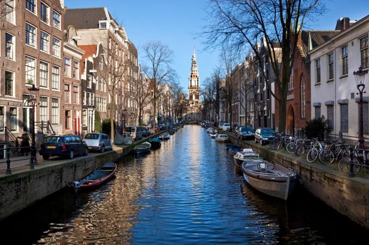 Amsterdam kanal turu
