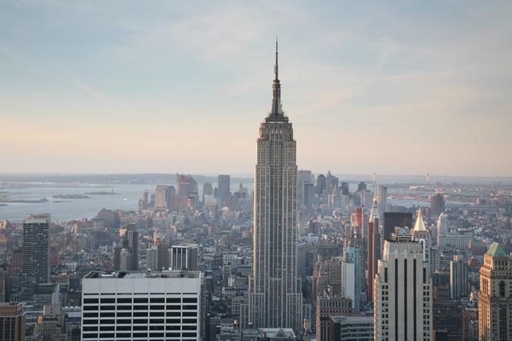 Empire State Binasına Yıldırım Düşme Anı