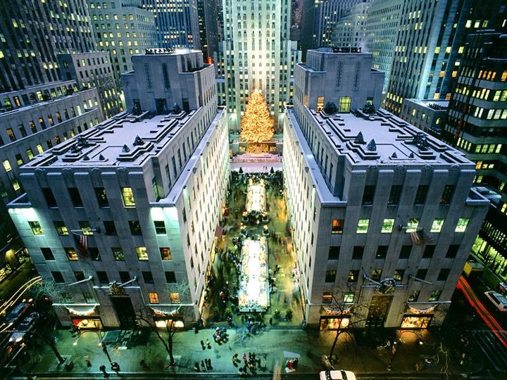New york Rockefeller Center Binası