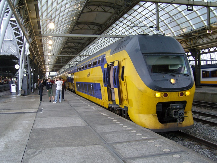 Amsterdam tren istasyonu