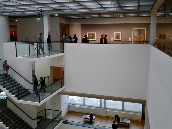 Amsterdam Van Gogh Müzesinin içi