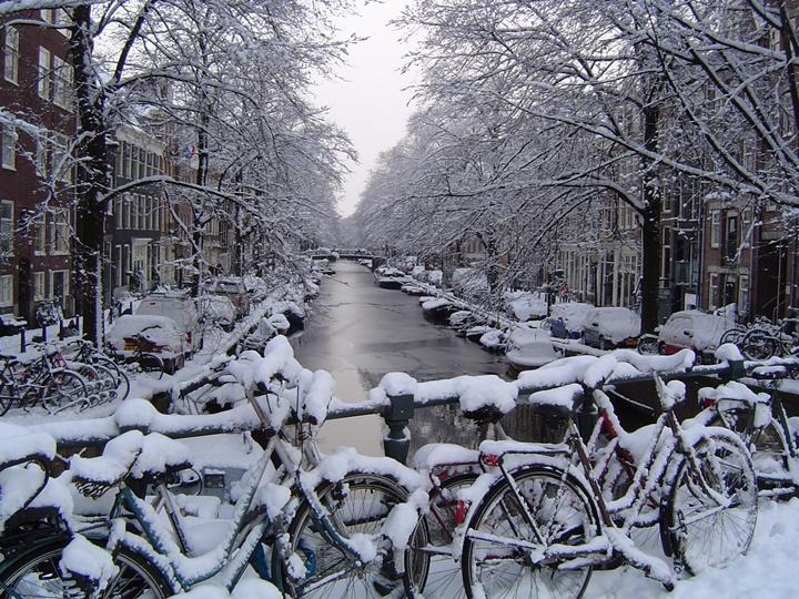amsterdamda kış ayları nasıldır