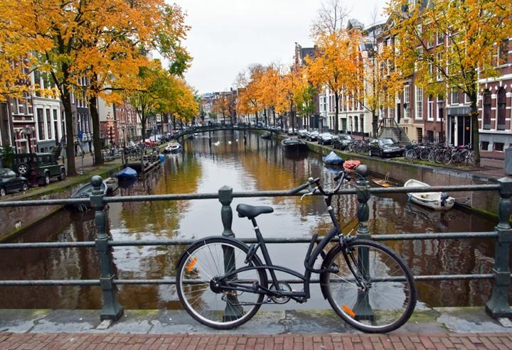 amsterdamda ulaşım