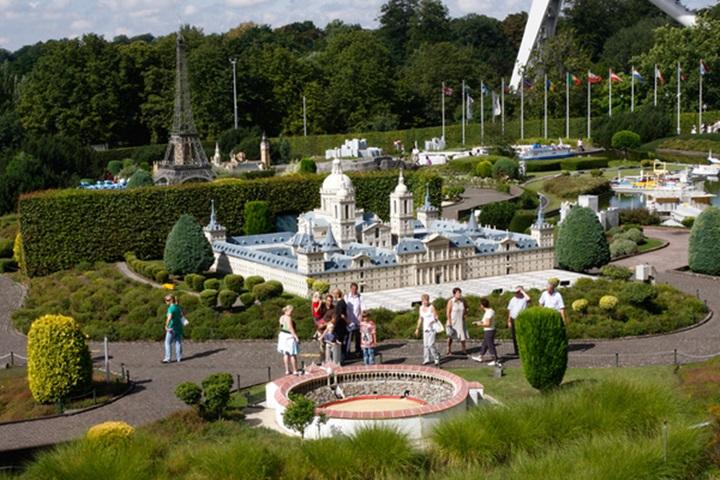 brükselde gezilecek yerler - Brüksel Mini Avrupa Parkı