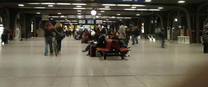 Brüksel Tren Ulaşımı