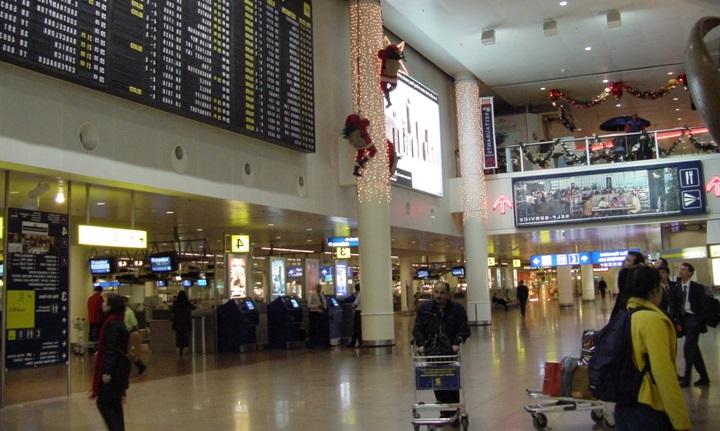 Brüksel hava alanı BRU
