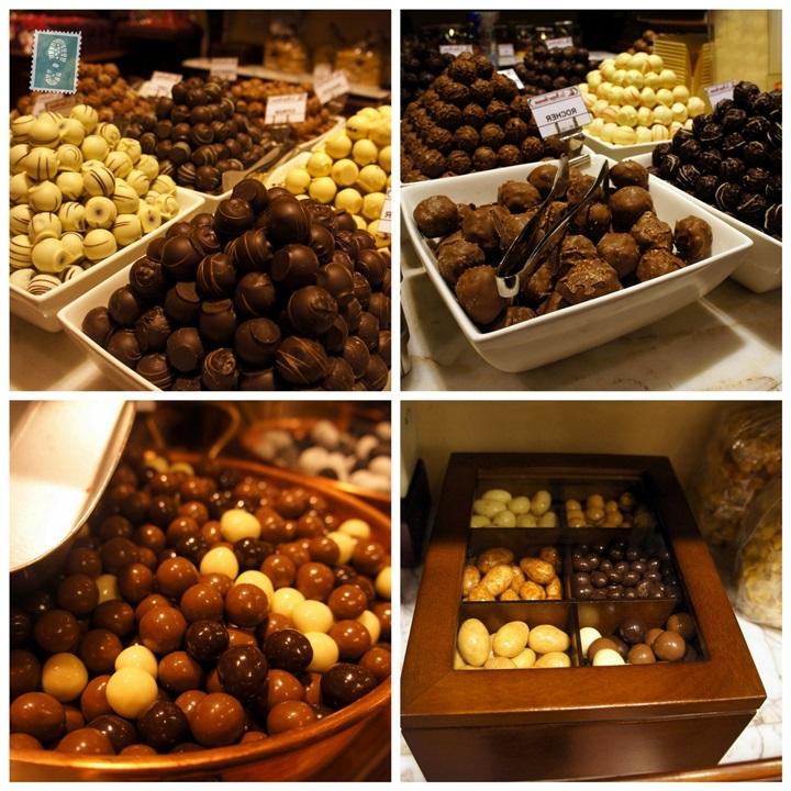 brüksel çikolataları