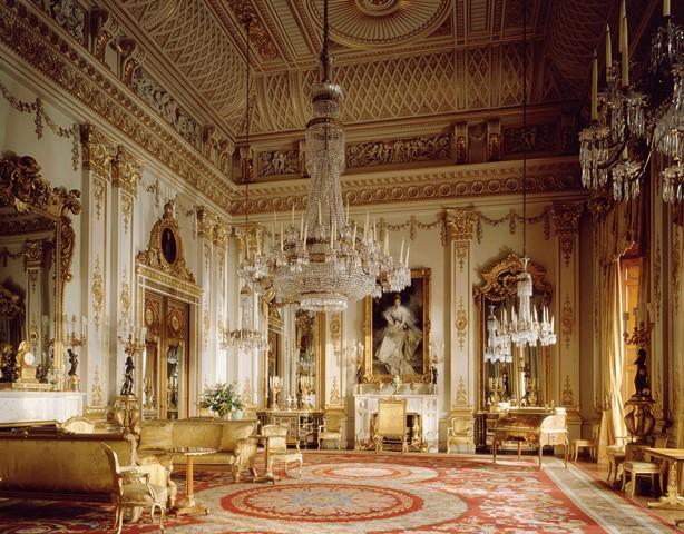 Buckingham sarayının içi
