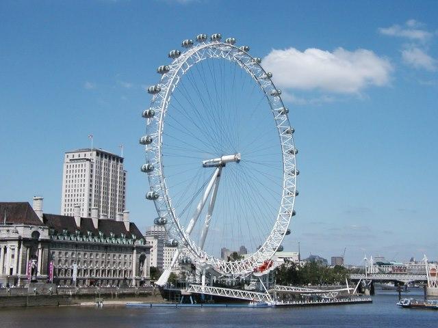 London eye dönme dolabı