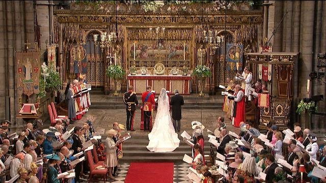 Prens William ile Kate Middleton'ın evlendiği yer