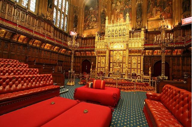 Westminster sarayının içi
