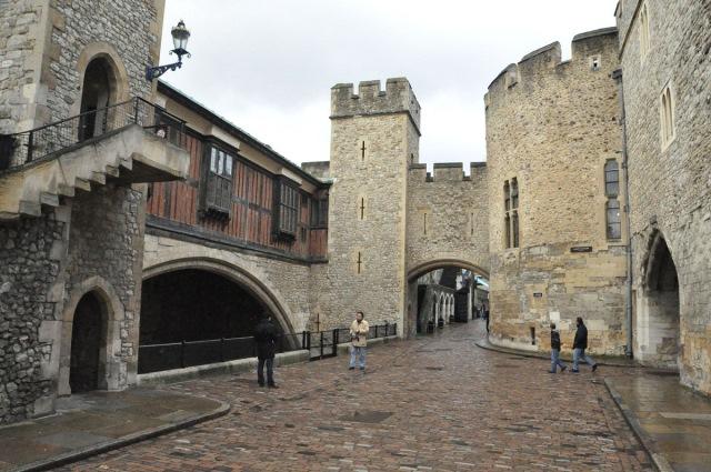 londra kalesinin içi