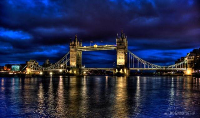 londrada gezilecek yerler - tower bridge köprüsü