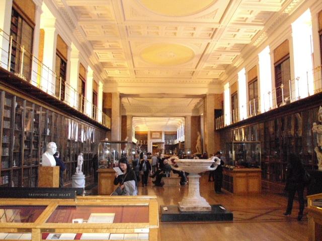 Londra British Müzesinin içi