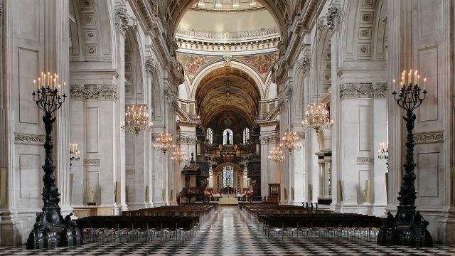 St. paul katedralinin içi
