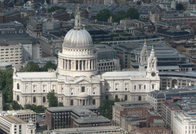 londrada gezilecek yerler - St. paul katedrali