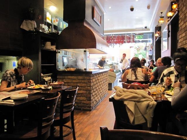 londrada Türk restaurantları